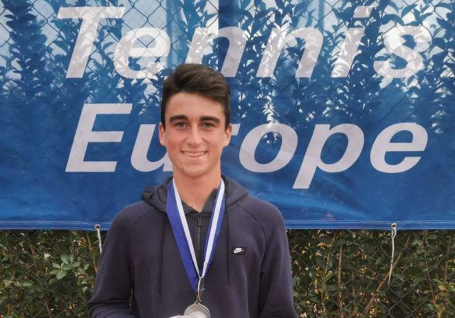 Alen Bill, član teniskog kluba Pro 2000 Poreč osvojio drugo mjesto na Europskom masters turniru do 16 godina !
