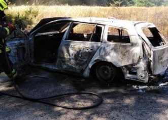 Na Stanciji Vergotini izgorio golf, u Taru u požaru stana jedna osoba zbog udisanja dima prevezena u pulsku bolnicu