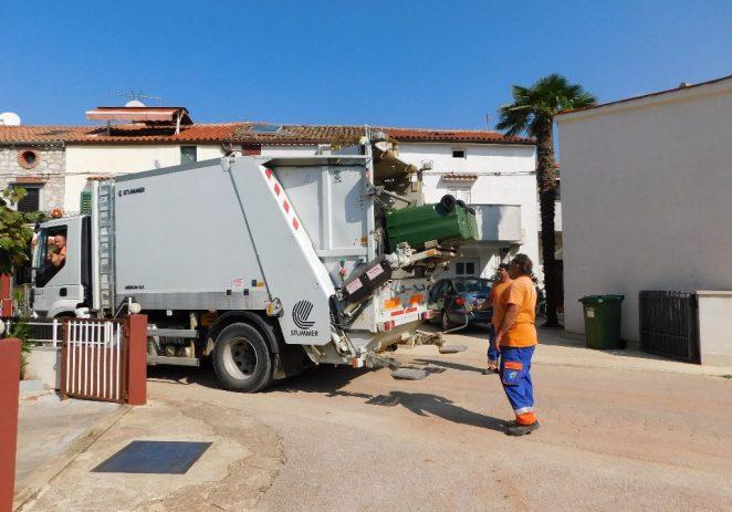 Odvoz otpada zbog blagdana Svih Svetih umjesto u petak izvršit će se u subotu, 2. studenog