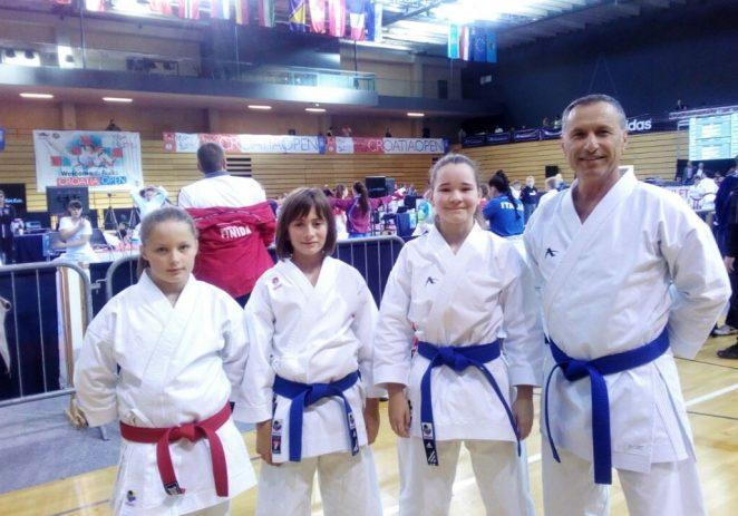 Karate klub Finida uspješno na Croatia open 2019.