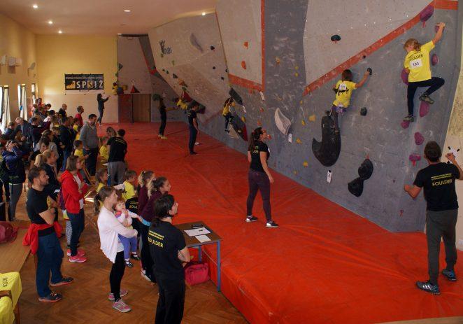 Na Prvenstvu Istre u sportskom penjanju, novom olimpijskom sportu za mlađe kategorije nastupilo 59 natjecatelja