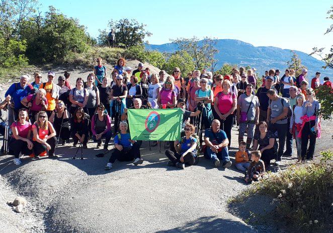 Devedesetak planinara uživalo u čarima Središnje Istre
