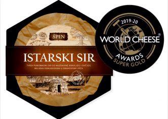 Super zlato, zlato, srebro i tri bronce istarskim sirevima Špin na natjecanju World cheese awards u Bergamu