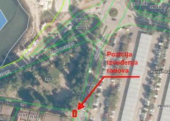Dogradnja oborinskog sustava u Parku Olge Ban od četvrtka, 7. studenog