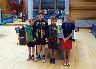 Stolnotenisači Tara na županijskom prvenstvu osvojili dvije medalje