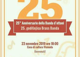 Brass Band Zajednice Talijana vižinada u subotu, 23. studenog slavi 25-godišnjicu