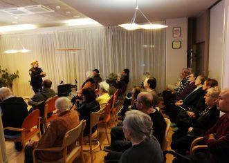 """U Domu za starije i nemoćne održano predavanje na temu """"Prijevare starijih osoba"""""""