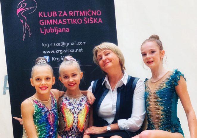Uspješan nastup i brojne medalje za ritmičarke Galatee na Međunarodnom 21. Challenge turniru KRG Šiška Ljubljana