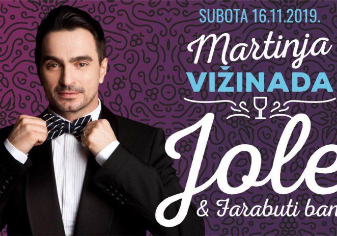 Dođite u Vižinadu na proslavu Martinja uz Joleta i Farabuti band u subotu, 16. studenog !