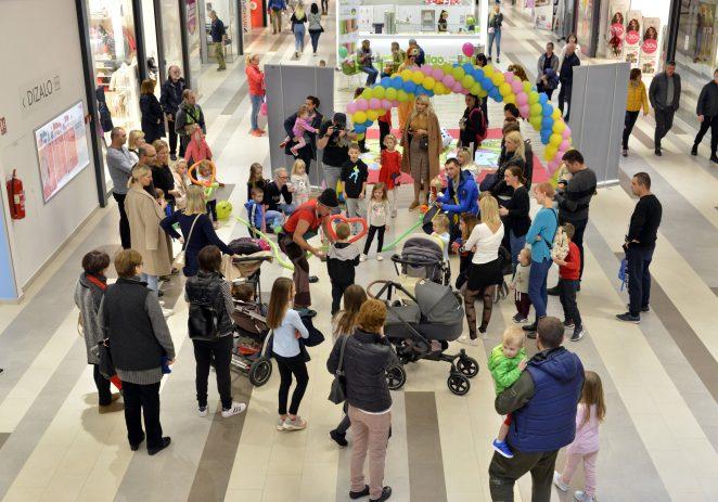 Proslava rođendana trgovačkog centra Max City održana je uz šareni program za sve generacije