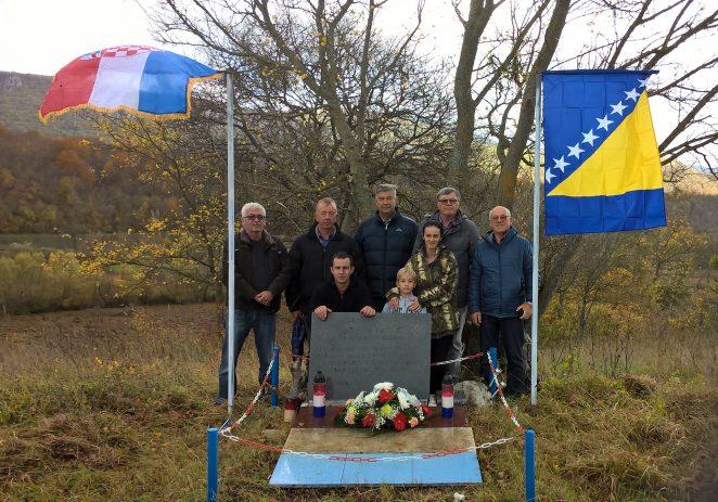 Porečki branitelji obišli mjesto  pogibije svog suborca – Stipana Liovića
