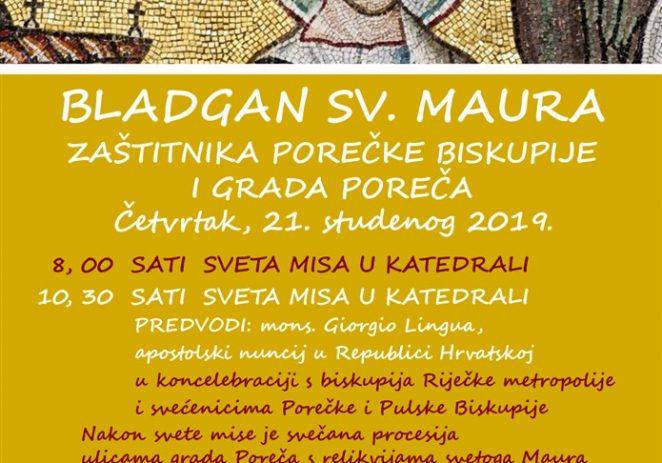 Apostolski nuncij nadbiskup mons. Giorgio Lingua u Poreču za svetkovinu sv. Maura