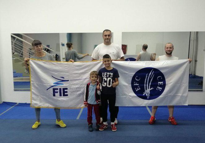 Porečki mačevalački klub Špada – jedini klub na svijetu s dvije najjače zastave iz mačevanja