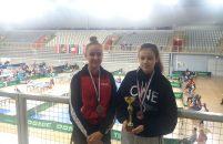 Ana Lukez i Ema Brizić na postolju iz STK Vrsar osvojile brončane medalje na međunarodnom stolnoteniskom turniru u Varaždinu