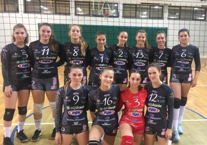 Mlađe kadetkinje Odbojkaškog kluba Poreč pobijedile Umag i doživile poraz od Novigrada