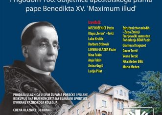 Ove subote u Pazinu Humanitarni koncert Caritasa Porečke i Pulske biskupije