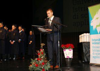 Prva promocija studenata Istarskog veleučilišta–Università Istriana di scienze applicate u Puli