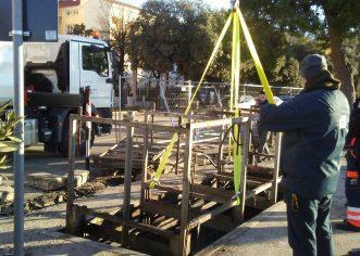 Zbog uređenja gradske Rive podzemni spremnici za komunalni otpad privremeno na lokaciji iza okrugle kule