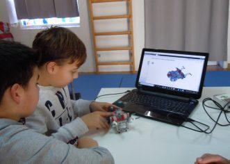 Lego robotika za zimske praznike u DNDu Poreč
