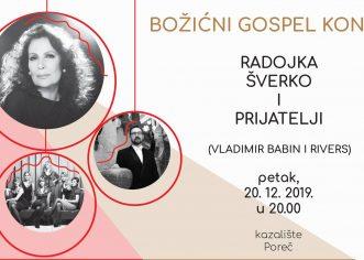 Ovog petka Radojka Šverko i prijatelji u porečkom kazalištu – Tradicionalan koncert gospela