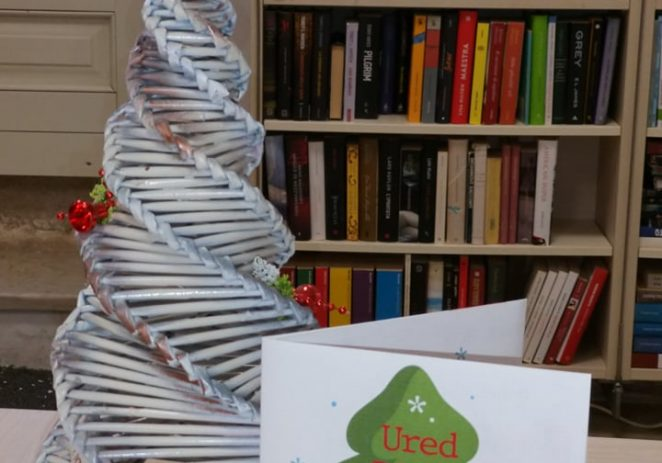 U uredu Djeda Mraza, na prvom katu Odjela za djecu i mlade Gradske knjižnice Poreč, nastavlja se bogat program za male i velike