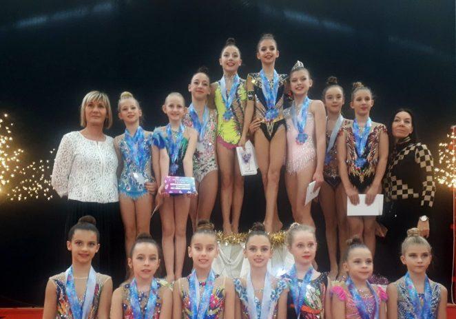 Pregršt medalja za porečke ritmičarke na Božićnom turniru u Mariboru