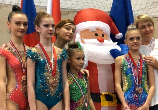 Ritmičarke KREG Galatea Funtana osvojile medalje na Mikulaš Kupu u Budimpešti