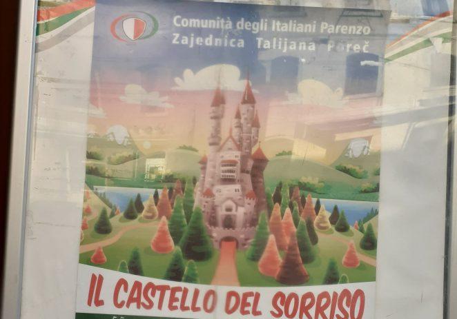 """Il Castello del sorriso"" u Zajednici Talijana Poreč u petak, 13. prosinca"