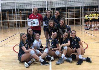 Juniorke odbojkaškog kluba Poreč osvojile su naslov prvakinja Istarske županije