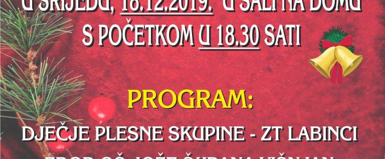image_božićni koncert plakat 2019