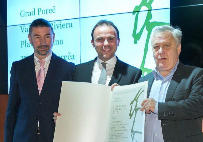 "Adventu Poreč posebno priznanje ""Zlatna koza – Capra d'oro"" TZ Istarske županije"