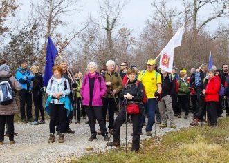 Slovenski planinari uspješno završili prvu hrvatsku dionicu pješačkog puta  E12 koja završava u Poreču