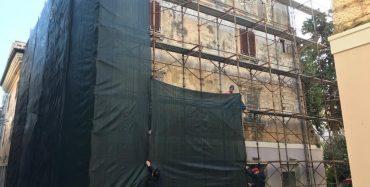 Počela zahtjevna obnova zgrade na adresi Decumanus 11