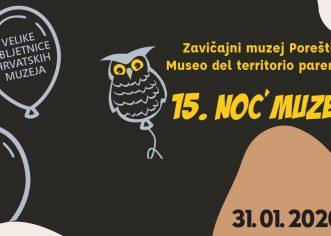 Noć muzeja 31.1.2020  u Istarskoj sabornici  od 18 – 23 h