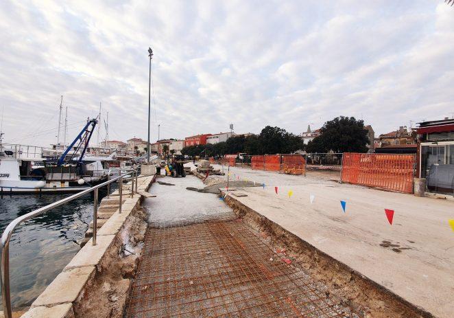 Izmjena privremene prometne regulacije na gradskoj rivi u Poreču tijekom rekonstrukcije rive