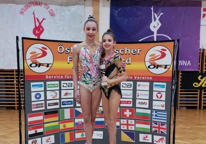 Porečke ritmičke gimnastičarke odlično otvorile novu sezonu nastupom u Beču