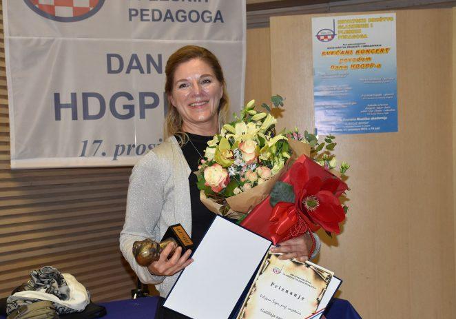 Učiteljica Umjetničke škole Poreč, Vilijana Šugar dobitnica godišnje nagrade Hrvatskog društva glazbenih i plesnih pedagoga