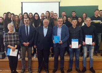 """Uručena priznanja učenicima pobjednicima HUP natječaja """"Poduzetnici budućnosti"""""""