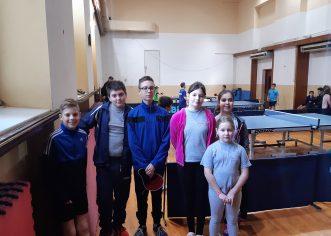 Kadeti i kadetkinje Stolnoteniskog kluba Jadran uspješno na ekipnom prvenstvu Regije