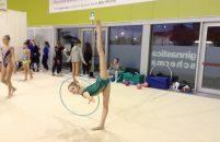 Izvrstan nastup rimtičke gimnastičarke Pije Kovačić iz KREG Galatea na turniru u Udinama