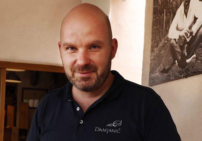 Ivan Damjanić danas je najvažniji privatni vinar Poreštine
