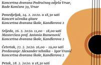 Tijekom veljače u Poreču se održavaju Dani gitare
