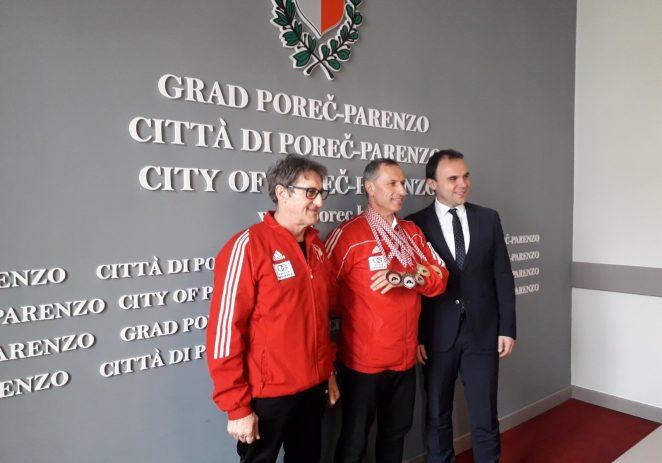 Gradonačelnik Loris Peršurić održao prijem za Amira Rešidovića povodom niza ostvarenih uspjeha na karate turnirima