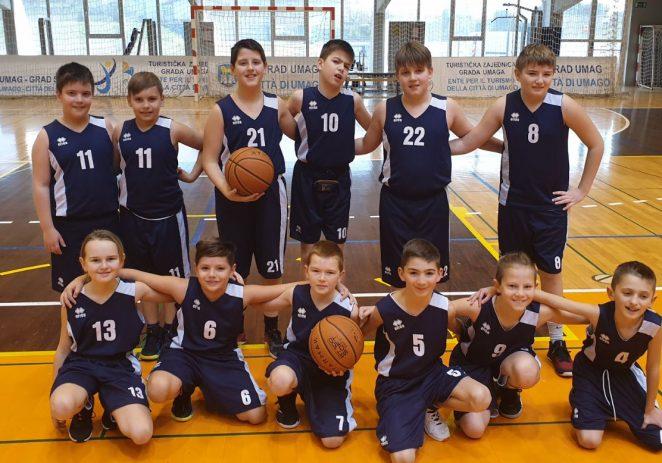 Nova pobjeda za dječake Košarkaškog kluba Poreč