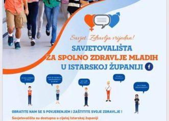 S radom započinje Savjetovalište za spolno zdravlje mladih u Istarskoj županiji