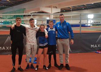 Atletičari porečkog Maximvsa osvojili TRI medalje na Državnom dvoranskom prvenstvu za mlađe kategorije !
