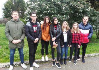 Učenici Srednje škole Mate Balote Poreč ostvarili odlične rezultate na Županijskom natjecanju iz njemačkog jezika