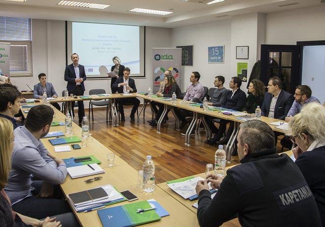 """Održan okrugli stol u sklopu projekta METRO na temu """"Identifikacija potreba u pomorskom prijevozu Istarske županije i razvoj eko-inovativnih rješenja"""""""