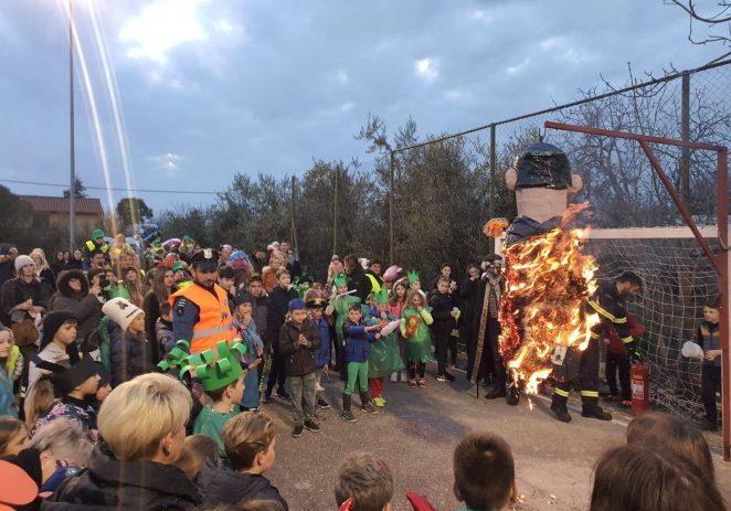 Paljenjem pusta završilo maškarano slavlje u Novoj Vasi