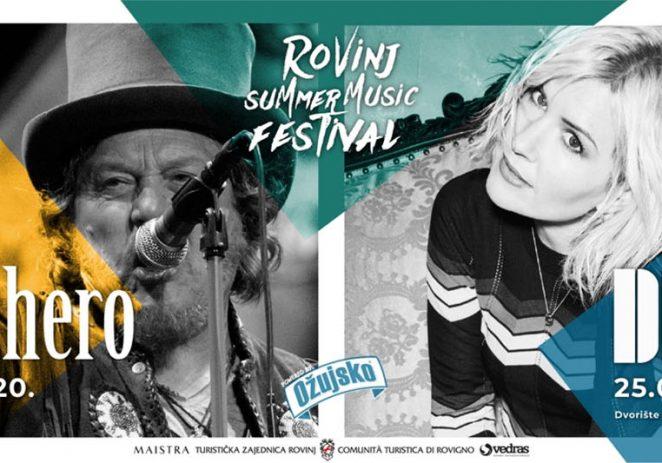 Zucchero i Dido stižu u Rovinj na Summer music festival !